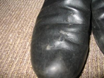 レザー製ブーツ02
