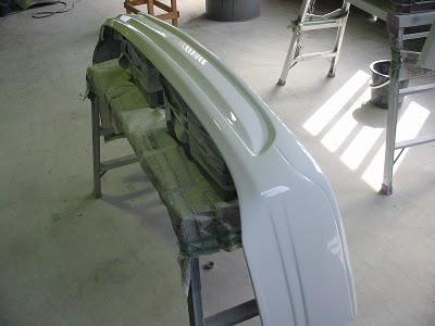 フロントスポイラー修理04