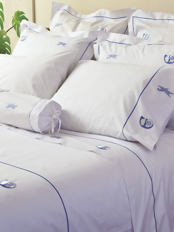 bed pillow cover queen embroidered