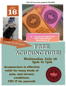 PCA Free Day July16