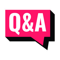 Q&A bubble