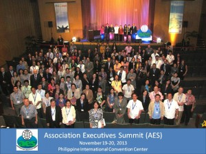 AES group photo