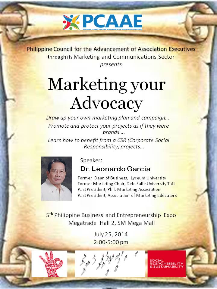 Marketing your Advocacy
