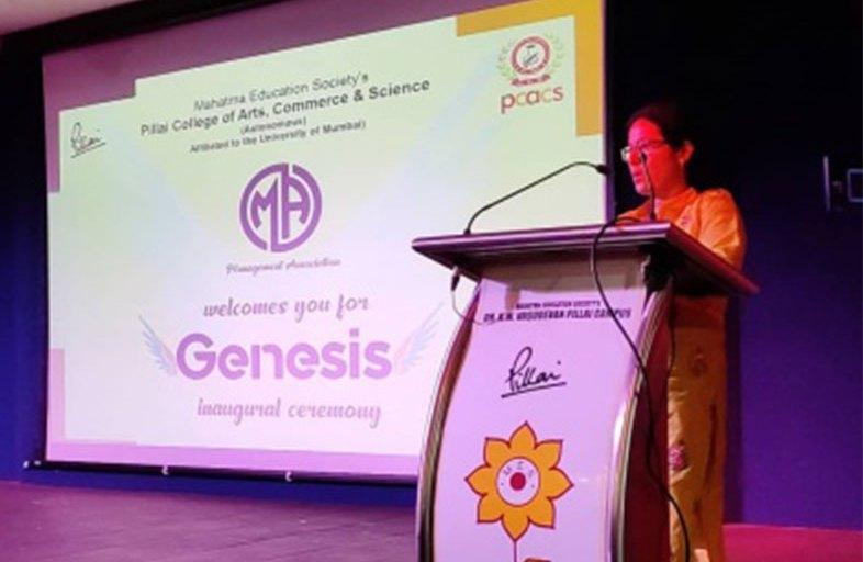 Inaugural of Genesis 2019 - Management Fest