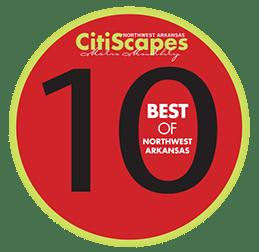 Best of Northwest Arkansas 2010 Winner by CitiScapes Magazine
