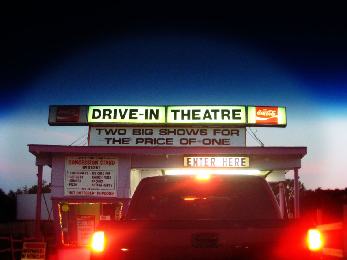 valley drive in theater