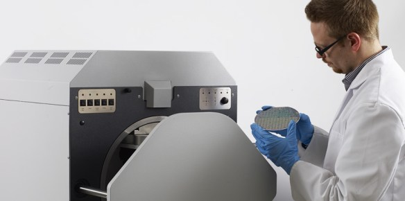 Specific X-ray Fluorescence Measuring Instruments (XRF) for Measurements and Analyses of Coating Thicknesses and Compositions on Wafers
