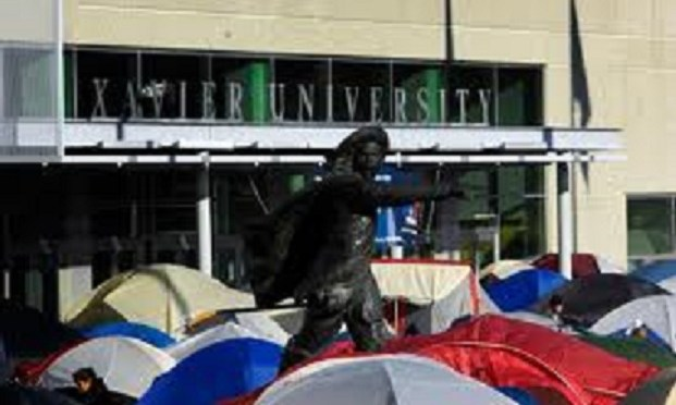 Xavier Fans to Campout Tonight Before PC Game #pcbb