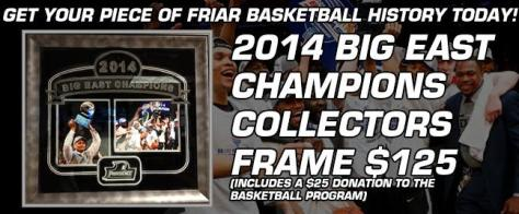 2014 BE champ collector frame