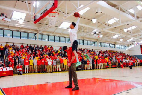 Drew Edwards Calvert Hall dunk contest