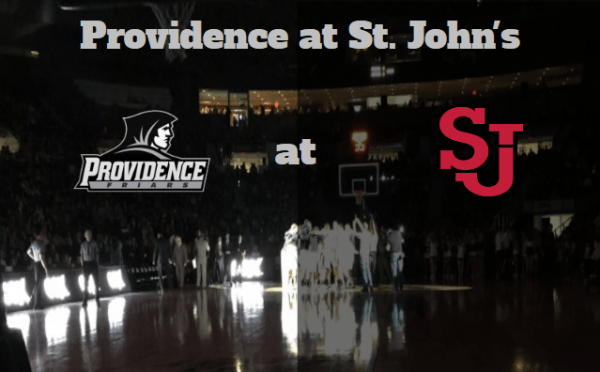 Game Notes & Preview: Providence (19-11, 9-8) at St. John's (13-17, 7-10) 3/4/17