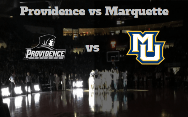 Game Notes & Preview: Providence (10-5, 1-1) vs Marquette (10-4, 1-1) 1/3/18