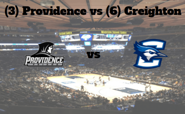 Big East Tournament 2017 Game Notes & Preview: (3) Providence (20-11, 10-8) vs (6) Creighton (23-8, 10-8) 3/9/17