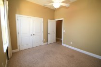 3rd bedroom with large closet.