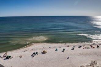 Beachfront unit at Pinnacle Port Condo in Panama City Beach