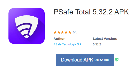 download psafe total for pc