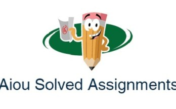 aiou solved assignments