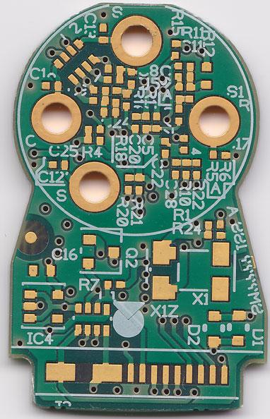 Dual Toxic Gas Sensor PCB