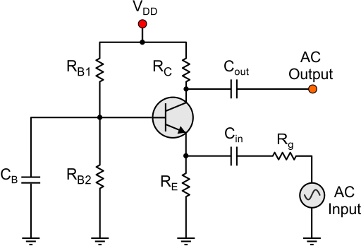 common base configuration circuit diagram dc breaker wiring bjt transistor theory