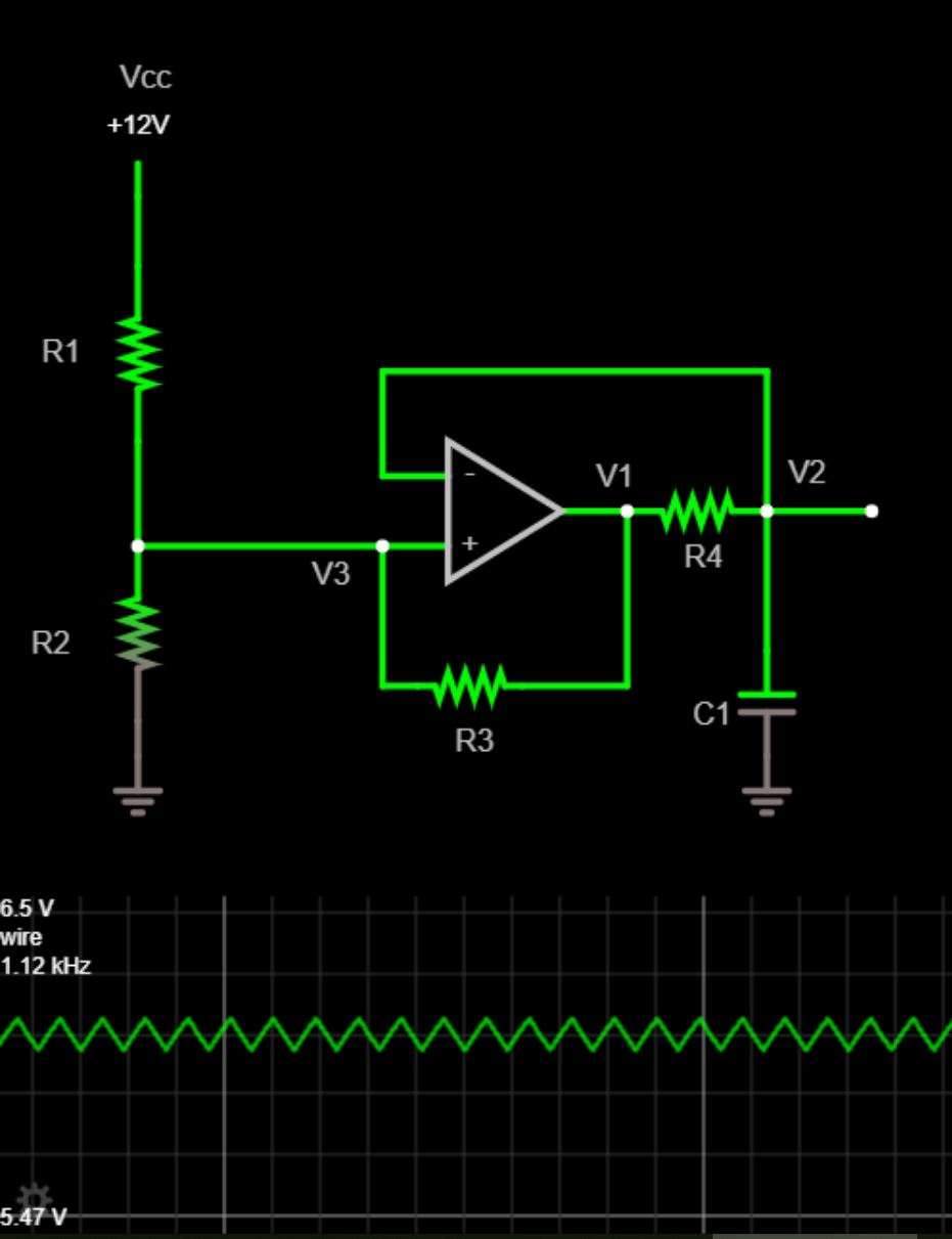 medium resolution of designing a single op amp triangle wave generator pcb isolation figure 1 triangle wave circuit schematic