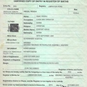 Ghana Birth Certificate Application Process. Complete Guide