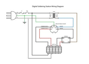 DIY Digital Soldering Station   PCB Smoke