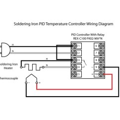 Pid Temperature Controller Kit Wiring Diagram 1972 Chevy Truck Ignition Switch Soldering Iron Pcb Smoke Click For Larger View