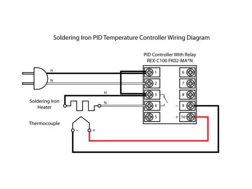 rex wiring diagram