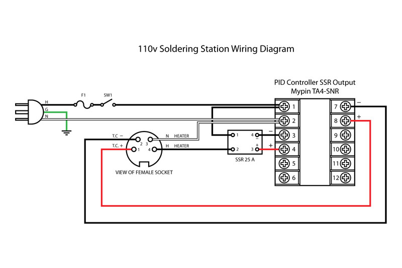 pid temperature controller kit wiring diagram 1950 ford car of electric soldering gun great installation iron electrical diagrams rh 11 phd medical faculty hamburg de
