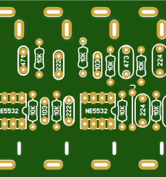 five band equalizer preamp audio board mono diy ne5532 ic electroindia [ 1735 x 821 Pixel ]
