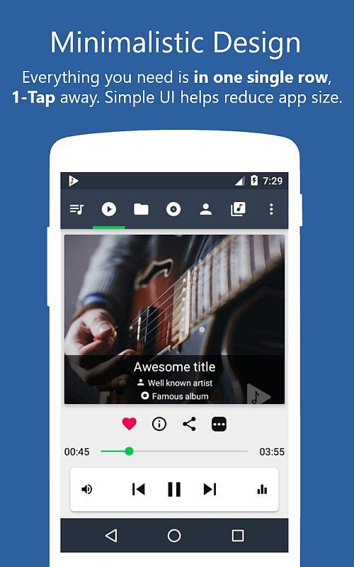 Musicolet app