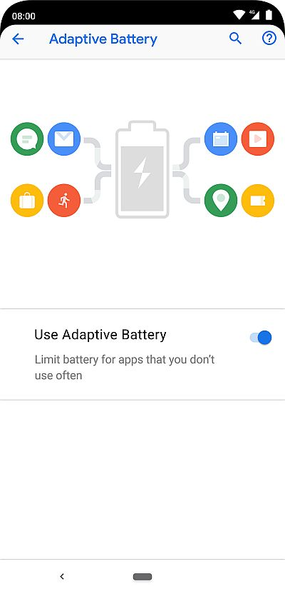 Nokia 8.1 - Android 9 Pie - Adaptive Battery
