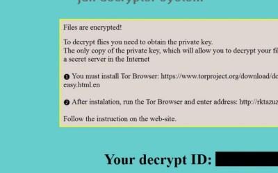 Se decubre un ransomware que se envía por correo, con más de 10.000 emails corruptos por hora