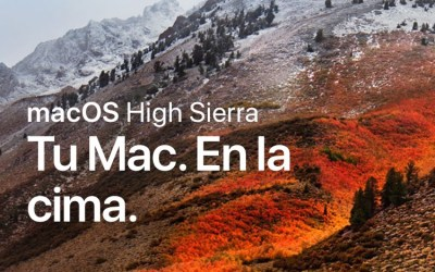 Llega macOS HIGH SIERRA de Apple.