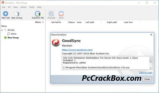 GoodSync Crackeed 2021