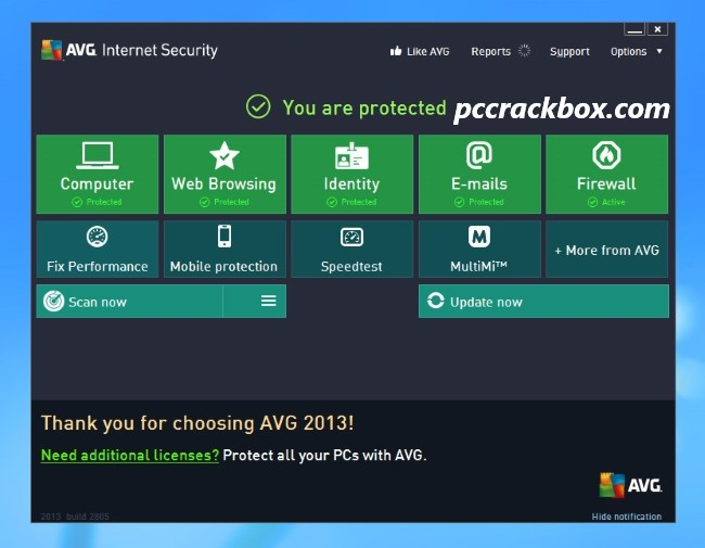 AVG Internet Security Activation Code