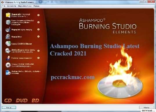 Ashampoo Burning Studio Crack + Features