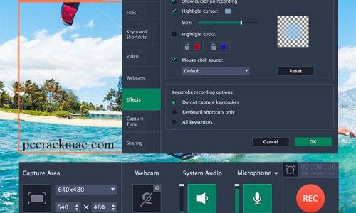 Movavi Screen Recorder Crack + Keygen