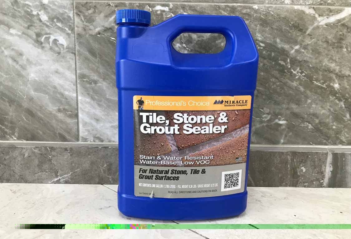 miracle tile grout sealer