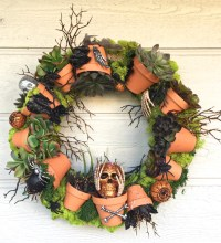 Welcome Halloween with DIY front-door decorations | The ...