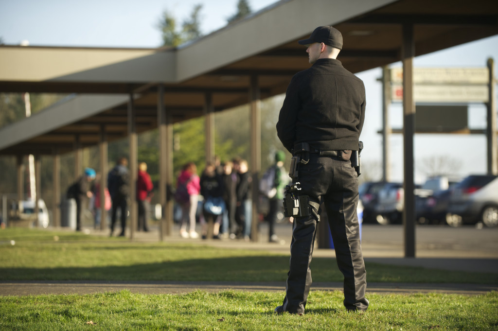 Ridgefield School District extends contract for armed security guard  The Columbian