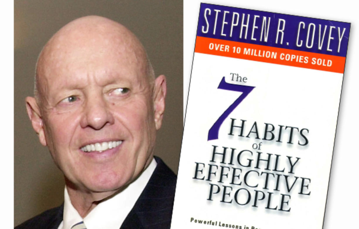 Stephen Covey 7 Habits Authors At 79