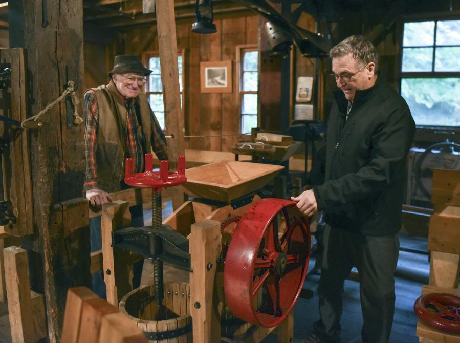 Antique Cider Press Parts