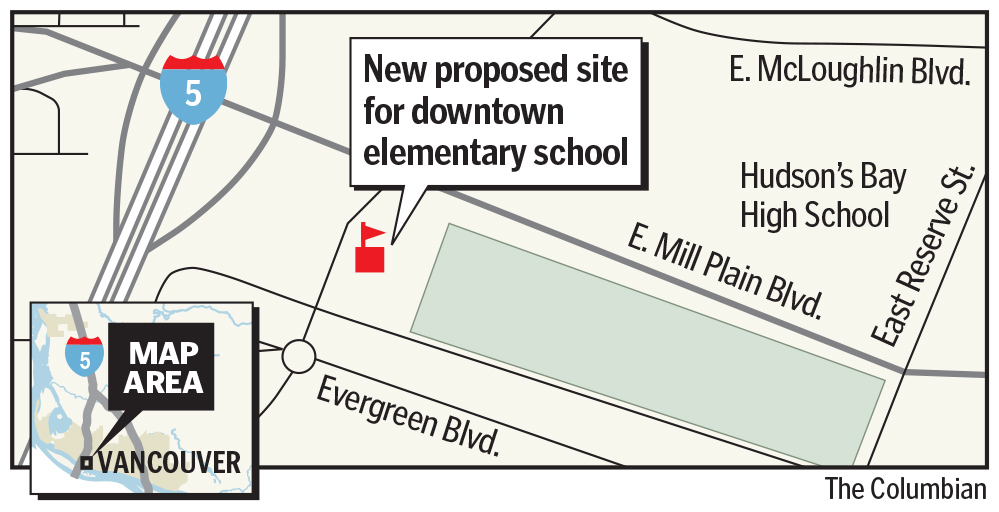 VPS eyes different site for downtown elementary school