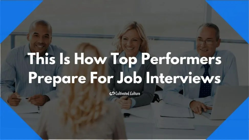 hight resolution of preparing for job interview featured image