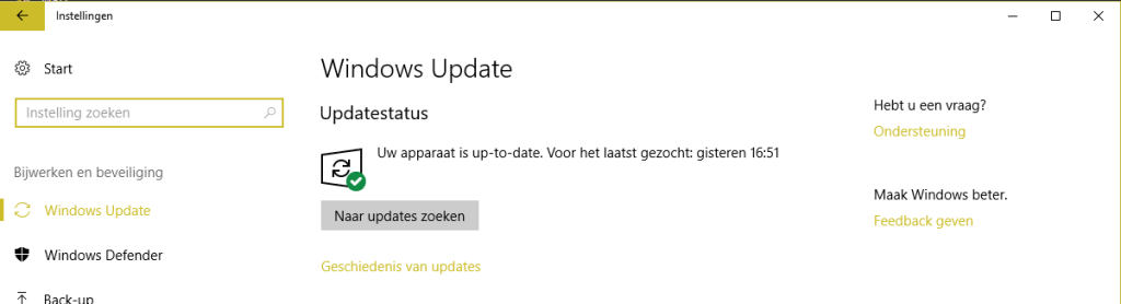 3.-Windows-10-naar-updates-zoeken-1024x278 Windows 10 gebruiker? Update snel! Broncode Windows 10 gelekt