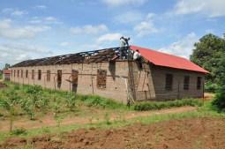 School roofing - Spring 2016