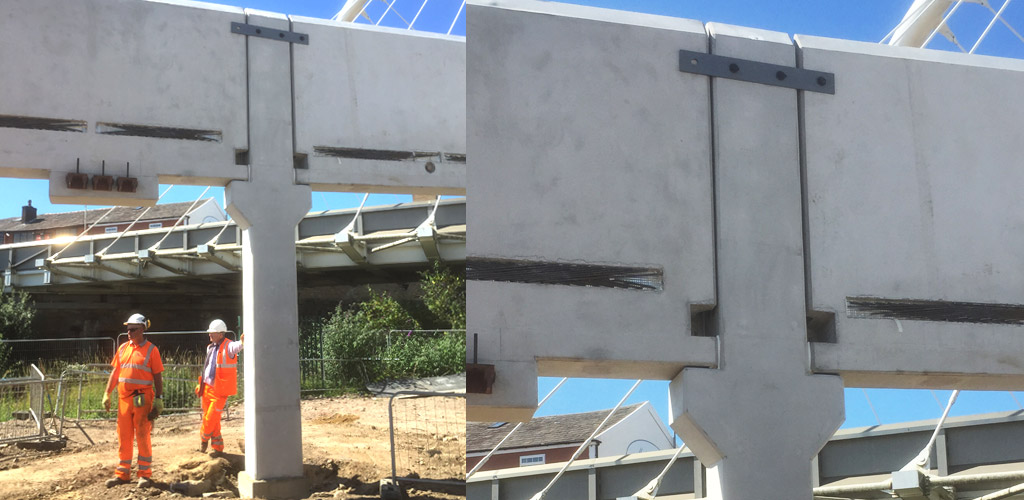 850 precast concrete units have been manufactured offsite
