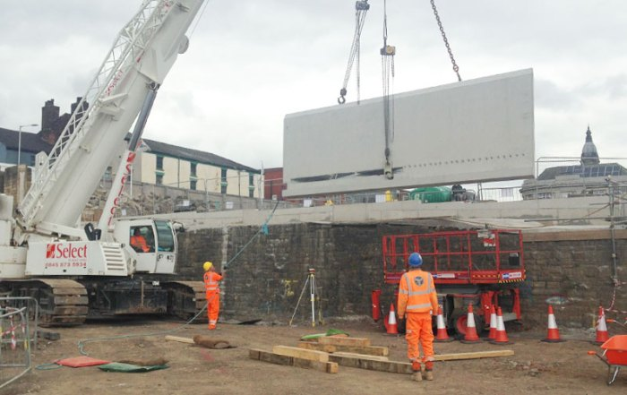 More than 850 precast concrete units will be installed by PCE Hybrid