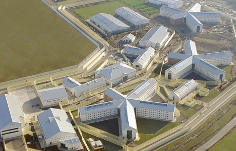 Ariel view of Featherstone 2 precast concrete prison